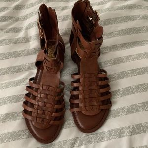 Vince Camuto sandals brown 6